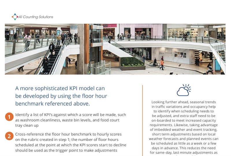 CASE STUDY | People Counting – How Occupancy Data Can Be Used To Plan Staffing Efficiently